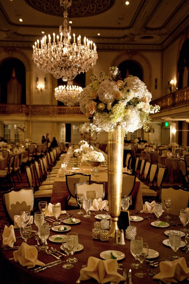 Get creative with vases centerpieces tall and