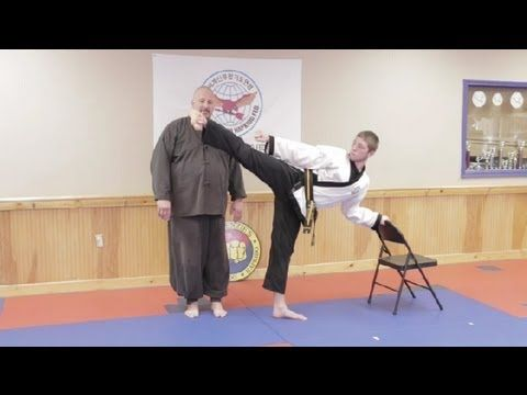 How to Improve Your High Kicking Skills in a Week : Hapkido & Taekwondo Techniques - YouTube