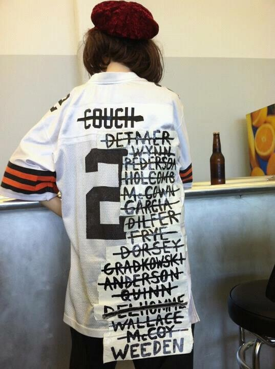 Cleveland Browns recent QB History. So sad but true.