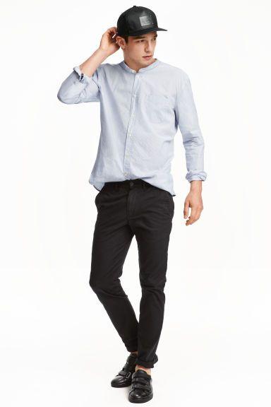 Pantalon coutil Taille mince - Noir - HOMME | H&M CA 1