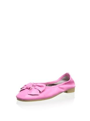54% OFF Aline Kid's Elastic Ballet Flat (Hot Pink)