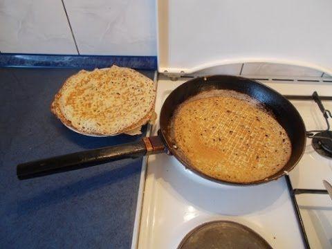 Неприлипающие блины. Non-adherent pancakes - YouTube