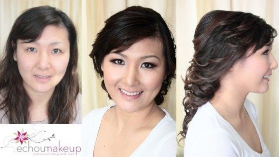 wedding.make-up.hair.trial:before-after:Mijin