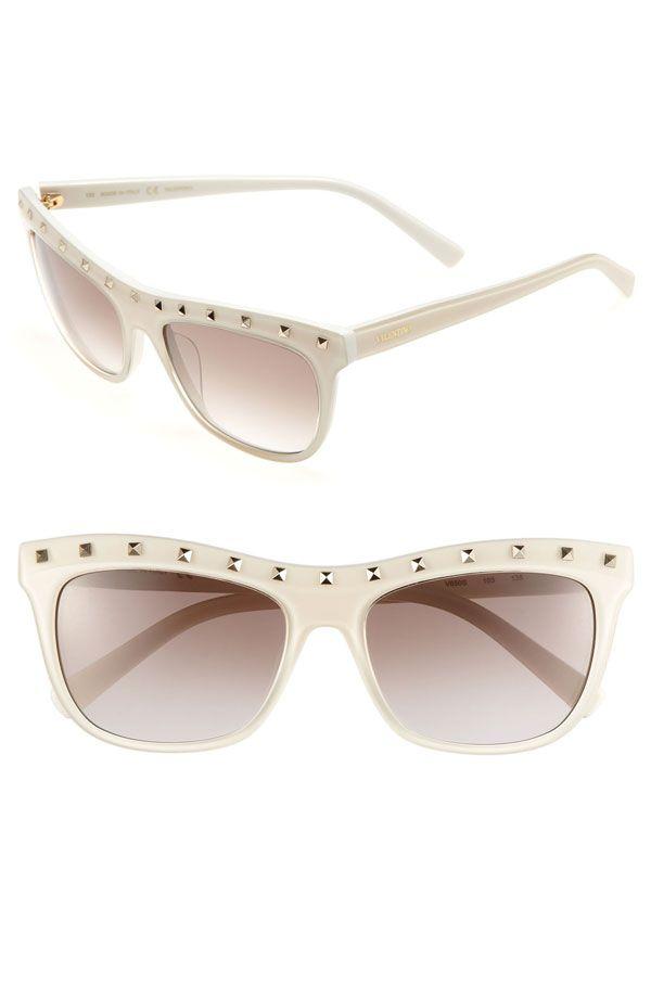 VALENTINO 'Rockstud' 54mm Sunglasses.