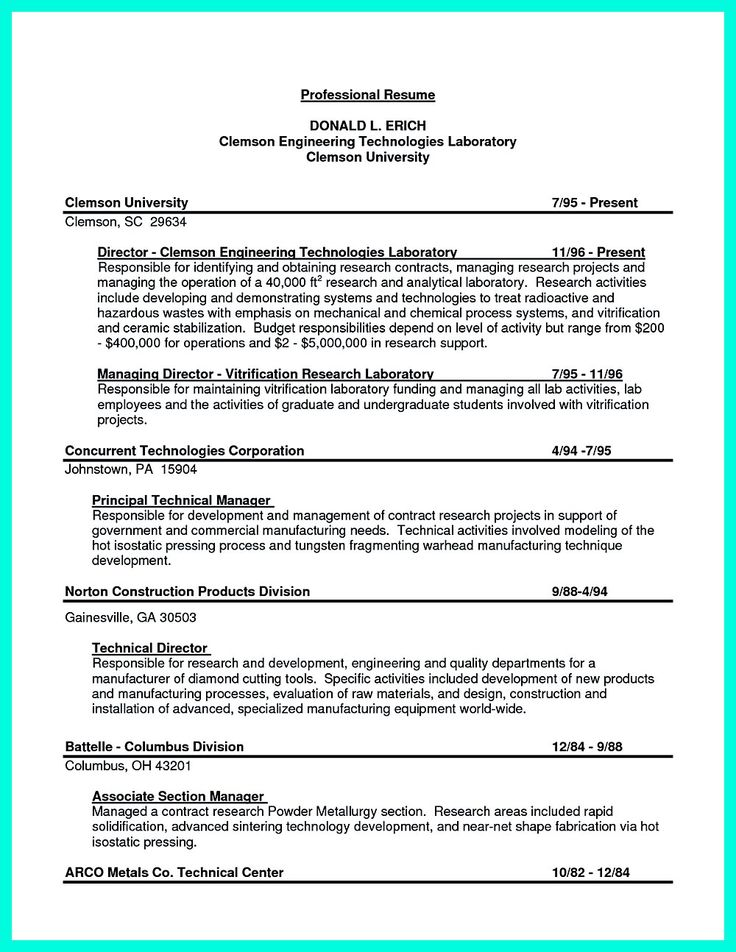 Objectives Section Of Resume List For Teachers Sample Objective