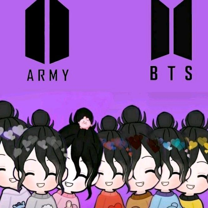 Bt21 Army Girl Drawing In 2020 Bts Army Bomb Army Girl Bts Drawings