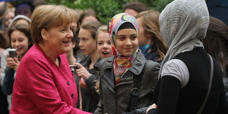 Allemagne : grâce aux populations réfugiées du moyen et proche Orient, le pays n'a jamais été aussi peuplé