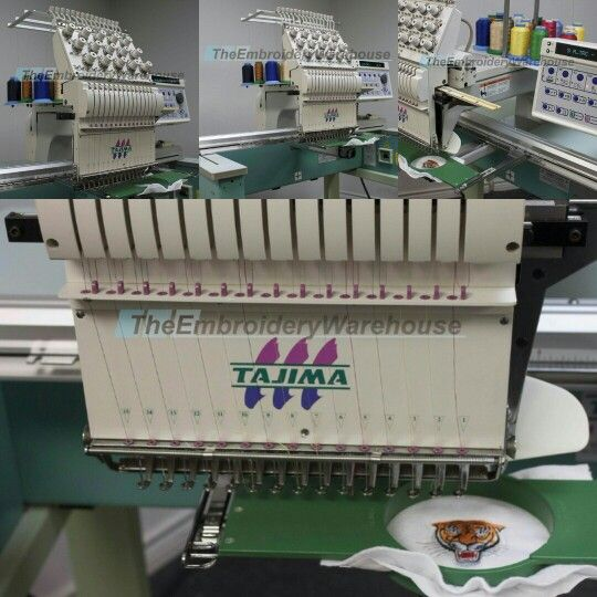 Used TAJIMA TMEX 1501 Year 2001 sale http://www.theembroiderywarehouse.com/machinePages/1226-Tajima_TMEX-C1501.php