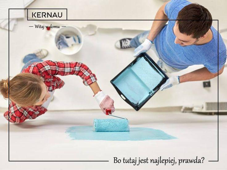 Dom - każdy wyobraża go sobie inaczej. Nam kojarzy się z niebieskim kolorem, który sprawia, że zawsze czujemy się przytulnie w naszych czterech kątach 🏠.  Jaki kolor powinny mieć Wasze ściany, byście mogli nazwać go domem :) ... bo w nim chcemy czuć się najlepiej :*!