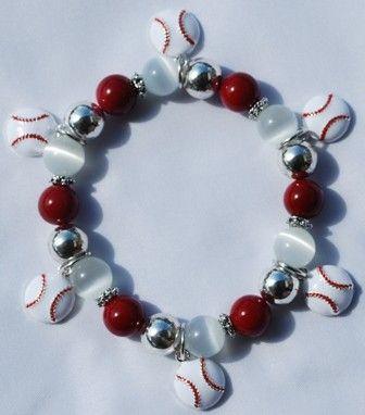 Fabulous baseball bracelet for only $10.