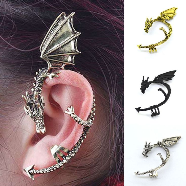 87 best best friends images on pinterest couple necklaces matching couples and necklace set - Game of thrones dragon ear cuff ...