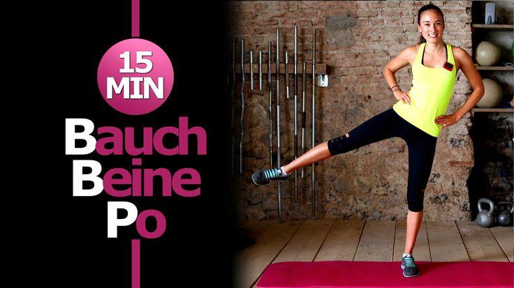Bauch Beine Po Workout - HIIT - Trainieren Zuhause - Körper definieren -...