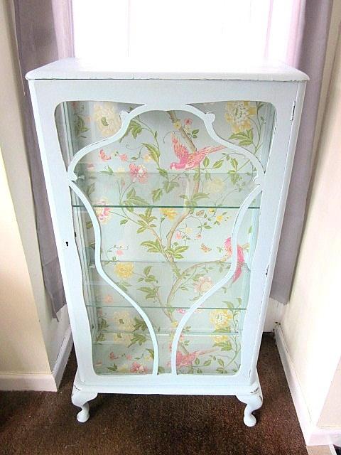 Vintage display cabinet,English