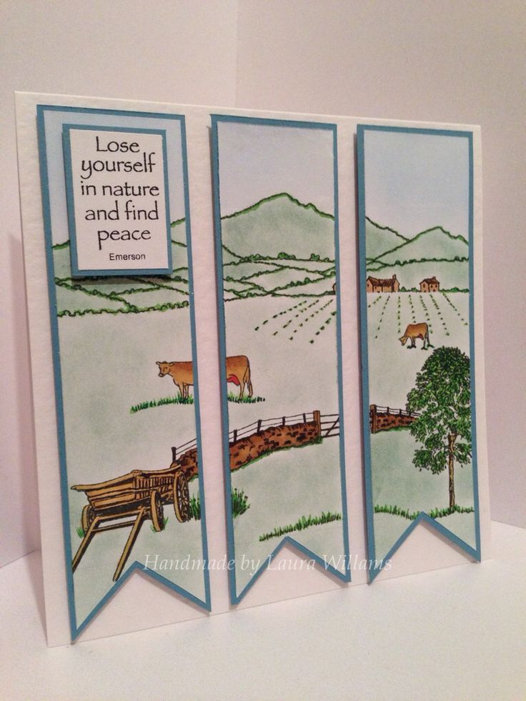 Countryside Card by Laura Williams