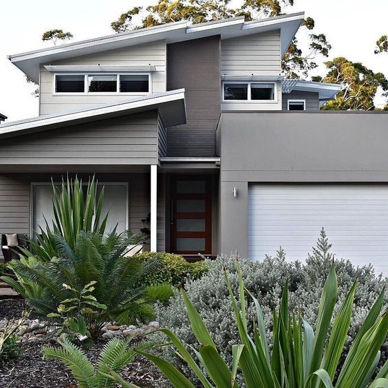 Grey exterior schemes are very effective and timeless. However all greys have an undertone of colour and in this post I will show you how to select the right grey for your exterior project.