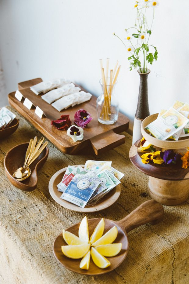An All-Natural Tea Party with Traditional Medicinals