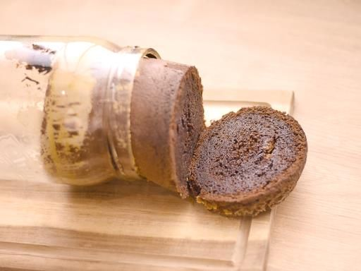 Cake au chocolat en bocal