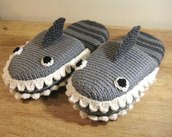 Crochet Shark Slippers Free Pattern For Adults Pakbit For