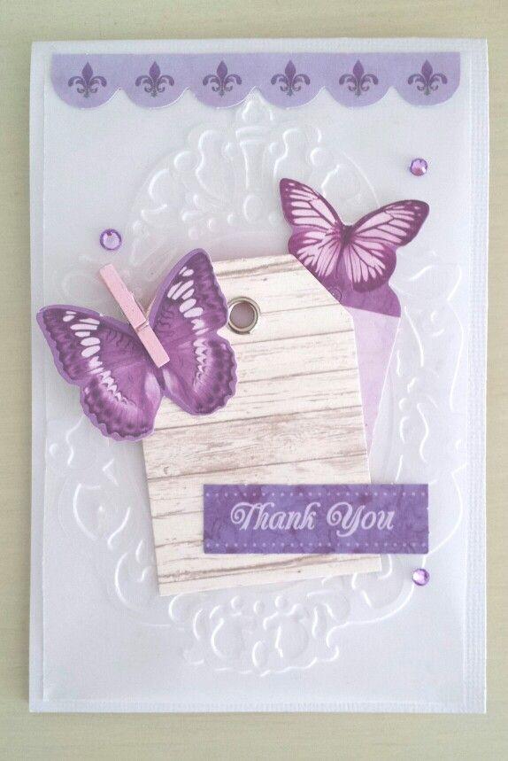 Kaisercraft : Fairy Dust collection : card by Amanda Baldwin