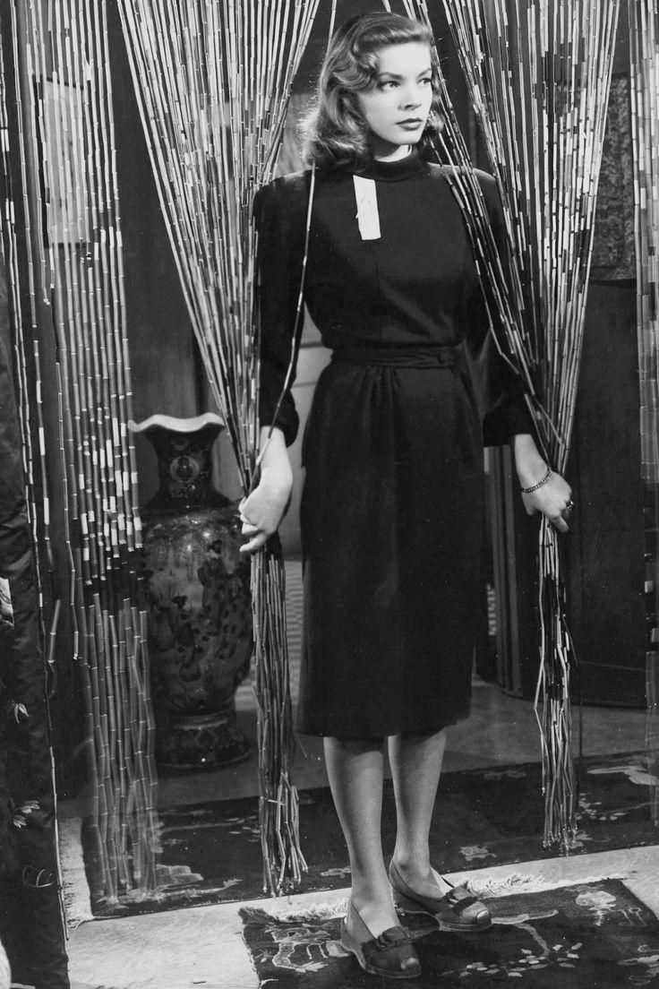 """ Lauren Bacall in The Big Sleep directed by Howard Hawks, 1946 """