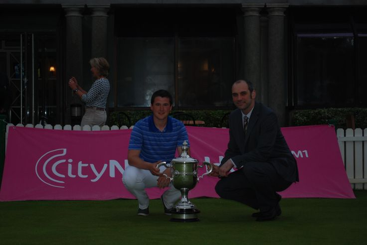 Our #Marketing manager with the #Winner of the #Championship
