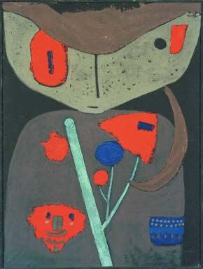 Figure of the Oriental Theater by Paul Klee 1934 | The Phillips Collection