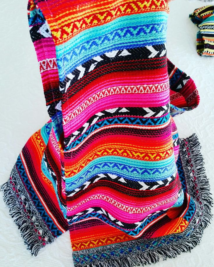 Mexican Poncho By NannaBonkers