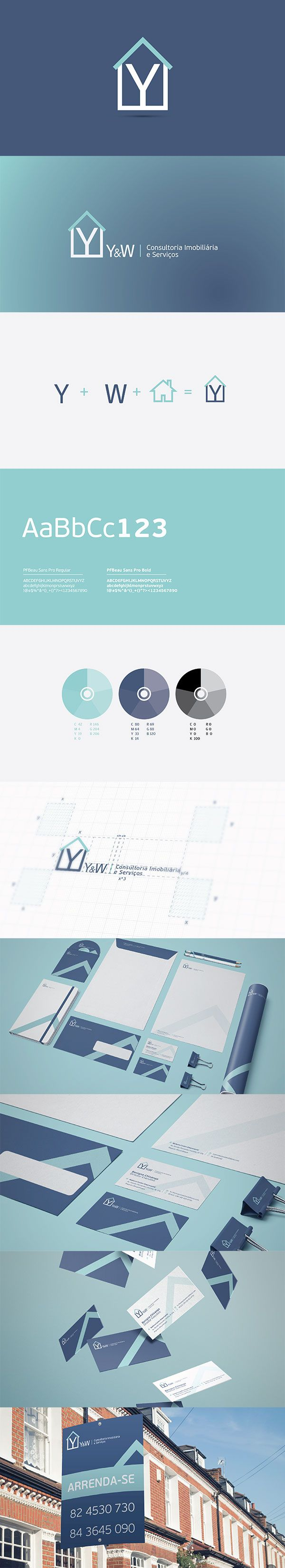 Y&W is a small real estate firm based in Maputo - Mozambique. This project started back in 2010 when the final logo proposal was approved. Since the company wasn't in time very active they didn't feel the nor had the budget to develop the rest of the elements. Now, four years later they have started growing their business and decided to develop the full corporate identity. This is the final outcome of the branding exercise.   Envoy!