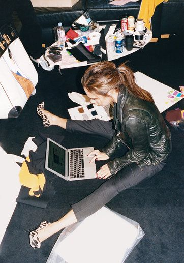 Victoria Beckham, working girl