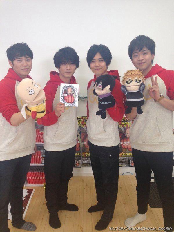 ONE PUNCH MAN Live in NicoNico #opm #seiyu #Furukawa_Makoto #Tsuda_Kenjirou #Kaji_Yuki #Ishikawa_Kaito