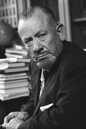 John Steinbeck, Nobel Prize Winner, Riverton, CT 1985 by Bill Eppridge