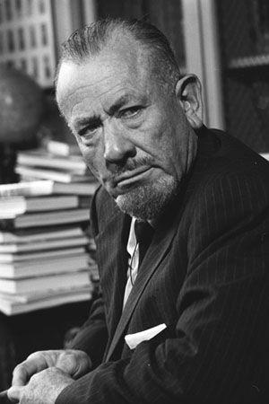 John Steinbeck, Nobel Prize Winner, Riverton, CT 1985 by Bill Eppridge