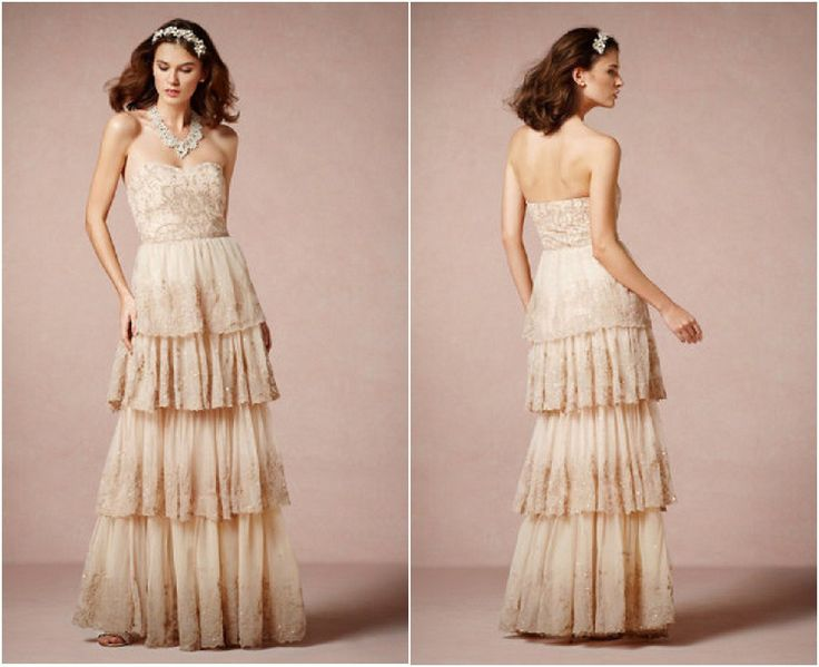 Vintage Rustic Wedding Dresses Photo - 5