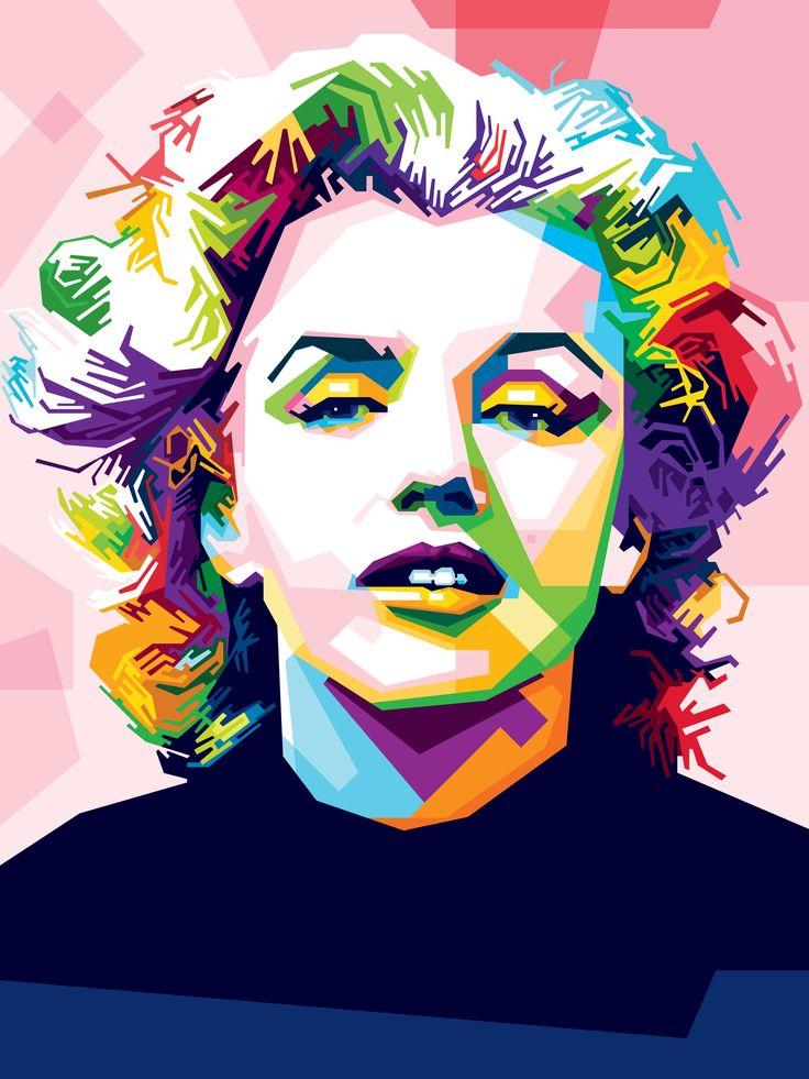 Marilyn Monroe by Hendrixs.deviantart.com on @DeviantArt
