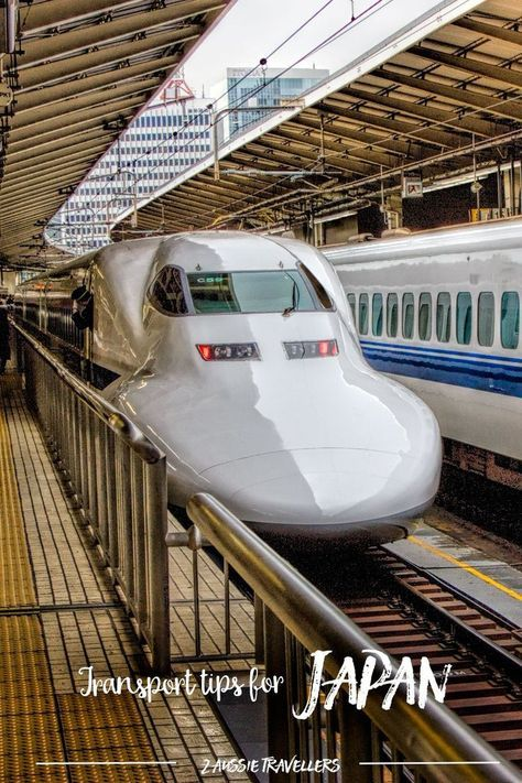 Tips and hacks for transport and travel in Japan | Train, shinkansen, subway, buses and more via @2aussietravellers