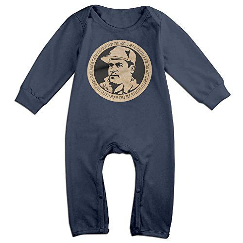 HOHOE Babys El Chapo Guzman Currency Long Sleeve Outfits 24 Months * You can get more details by clicking on the image.