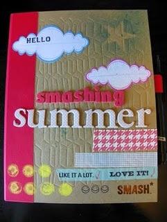 Smash BooksScrapbook Ideas, Summer Smash, Smash Book, Smash Ideas, Smash Journals, Smashbookwreckthisjourn Ideas, Smashbook Covers, Smash Summer, Smashbook Ideas