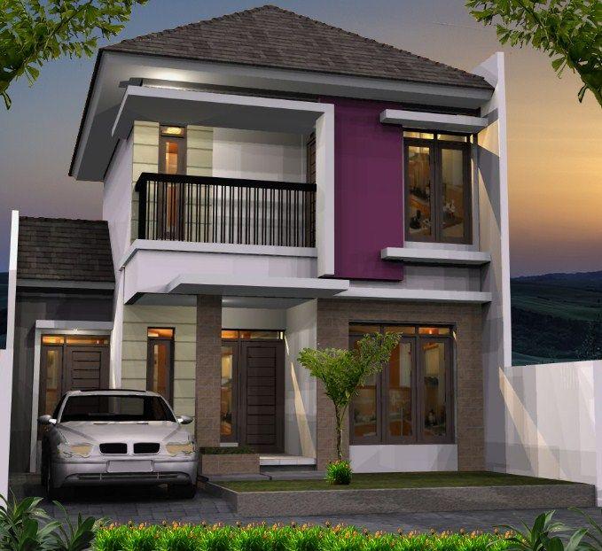 House Model Design: Simak Yuk ! Jenis-Jenis Rumah Tingkat Minimalis Modern
