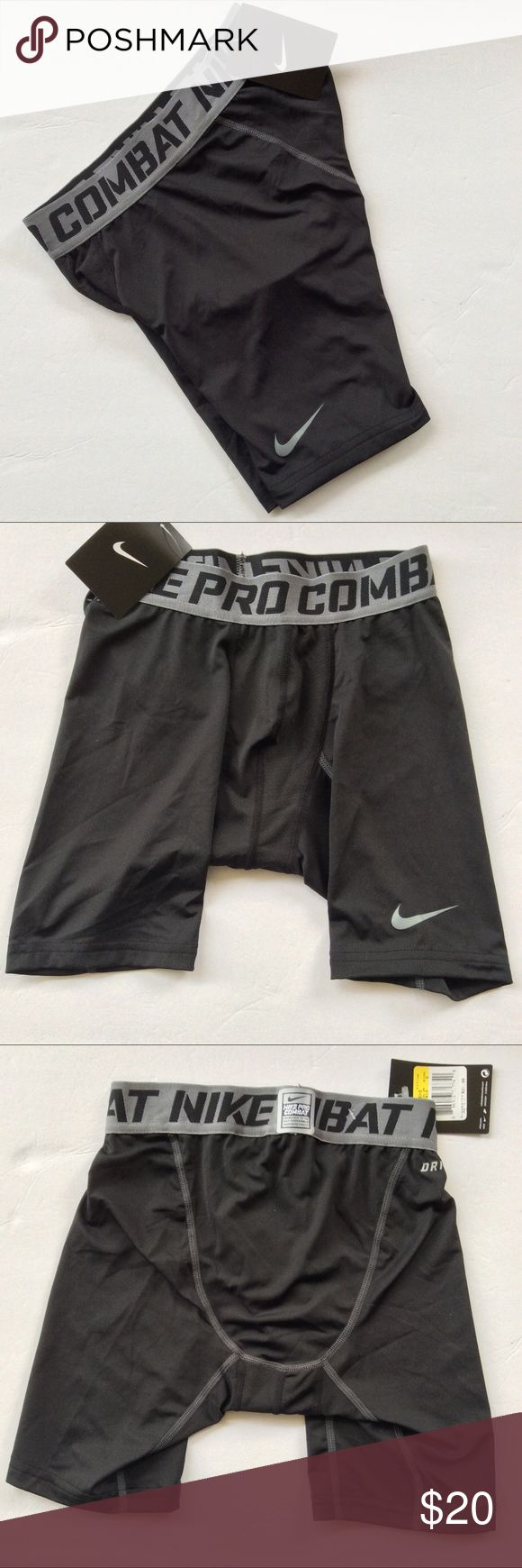 ‼️‼️NWT NIKE PRO COMBAT MENS SHORTS SZ SM‼️‼️ NWT Nike men's Nike Pro Combat compression shorts.  White Nike swoosh on front thigh.  Superior quality compression short.  Interior has mesh lining at crotch.  Nike Prol logo waistband. Nike Shorts Athletic