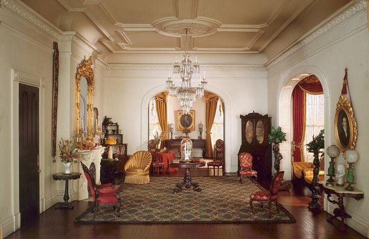 Chicago Postcard Museum Special Exhibit: The Art Institute of Chicago; Mrs. James Ward Thorne Miniature Rooms.
