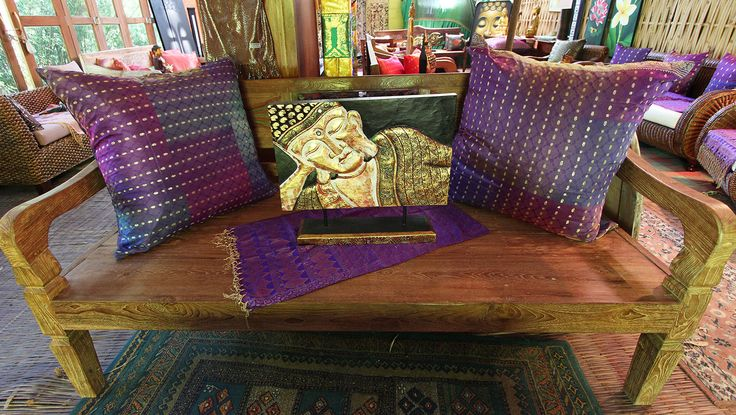 Balinese Day Beds - authentic hand carved timber - plenty of styles to choose from http://www.baligarden.com