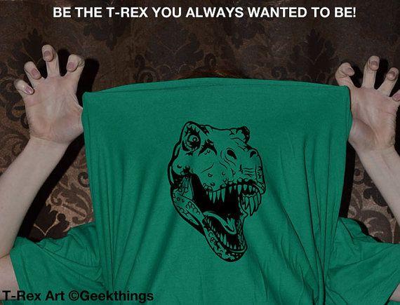 Ask me about my T rex t-shirt be a t-rex tshirt funny 2 sided shirt tyrannosaurus dinosaur dino t-shirt humor mens ladies womens tee shirt