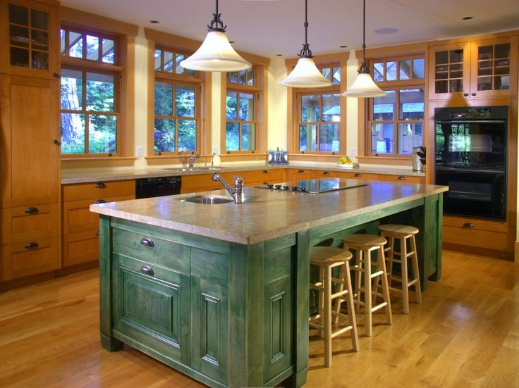 """The perfect """"Country Kitchen"""" for your Farmhouse! Built by Road's End Contracting www.roadsend.ca"""
