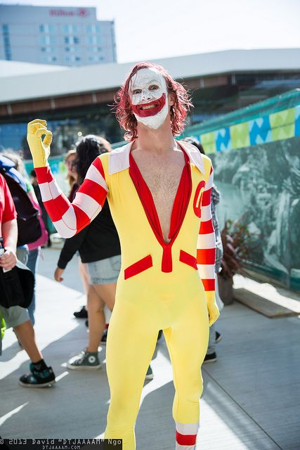 Ronald McDonald by DTJAAAAM, via Flickr (I was gonna post this on my Cosplay board, but, holy crap)