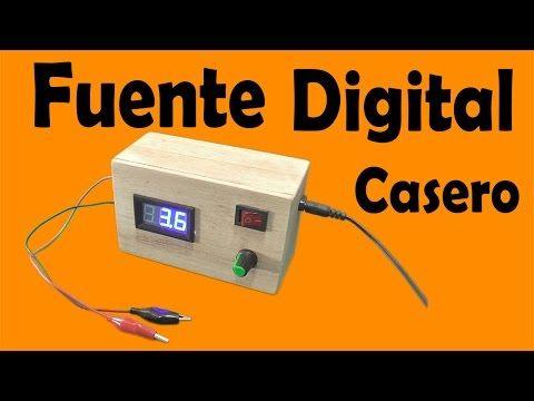Cómo Hacer Una Fuente Digital Casero (muy fácil de hacer) - YouTube