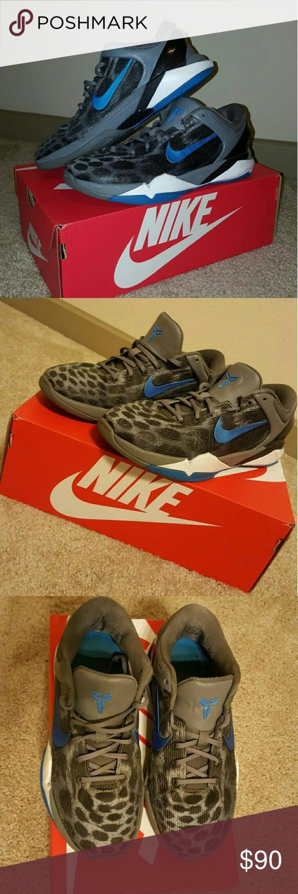 Nike Kobe Snow Leopard Nike Kobe Snow Leopard Nike Shoes Sneakers