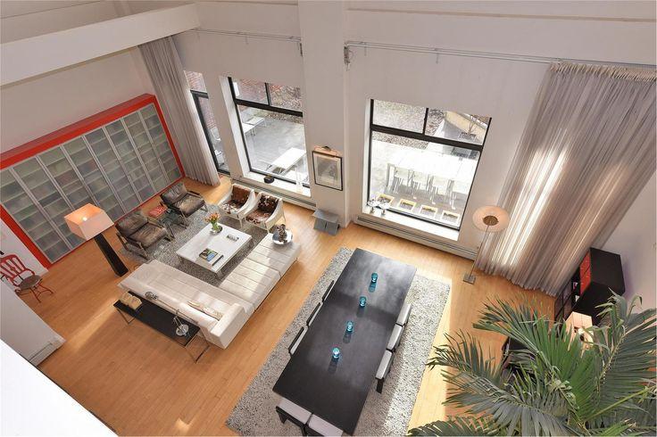 $6M Newswalk Duplex Loft Has a Private Screening Room | 6sqft