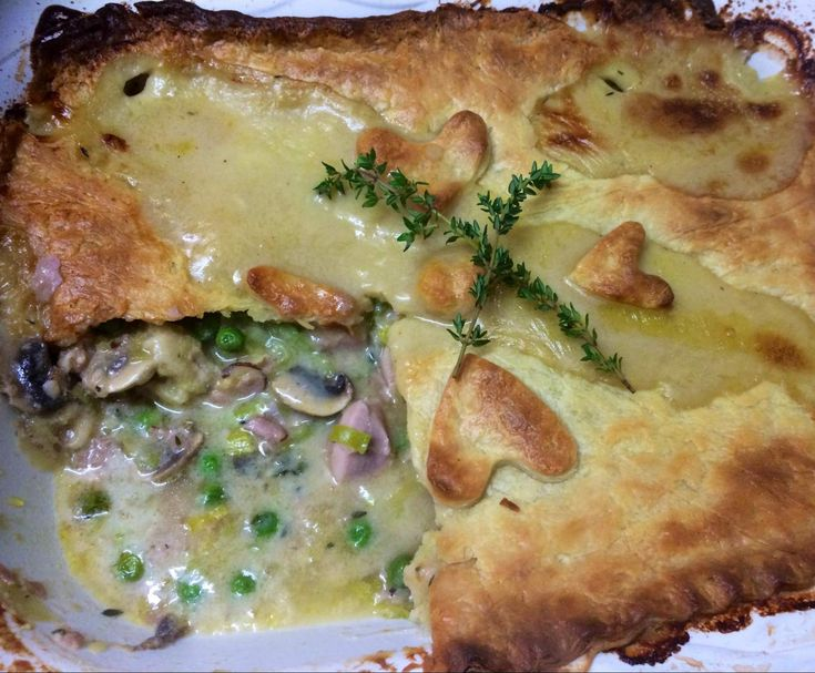 Recipe Chicken, Leek & Mushroom Pie by TeeCeeLee - Recipe of category Main dishes - meat