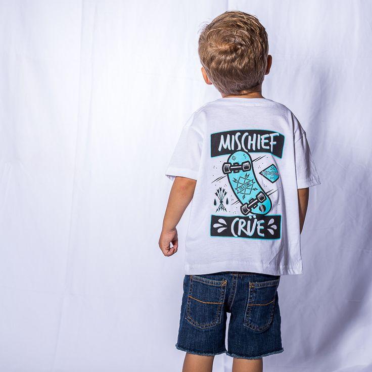 Mischief Crüe Skate Tee – Stix and Stones Kids Apparel