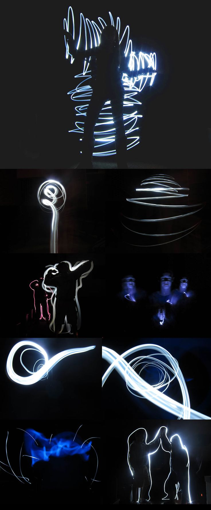 Love it! And a link to a light painting tutorial! Could do this so easily in the gallery!